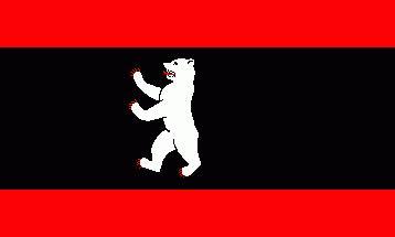הדב קנוט על דגל העיר ברלין